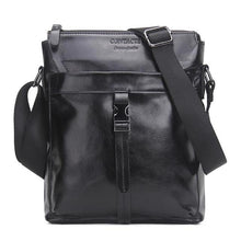 Men's Genuine Leather Crossbody Messenger Bag-Crossbodybag-Online GMall-Black-China-(20cm<Max Length<30cm)-Online GMall