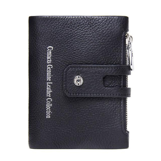 Men's Genuine Leather Wallet-Wallet-Online GMall-black-China-Online GMall