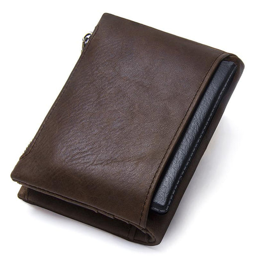 Men's Genuine Leather Wallet-Wallet-Online GMall-coffee-China-Online GMall