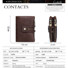 Mens Leather Wallet-Wallet-Online GMall-coffee-China-Online GMall