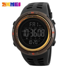 Men's LED Digital Sports Watches-Digital Watch-Online GMall-Brown Gold-Russian Federation-Online GMall