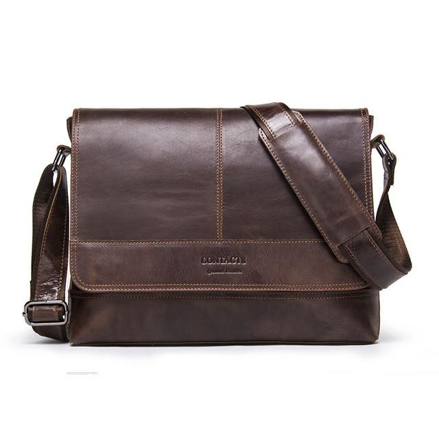 Men's Messenger Bag-Messenger Bag-Online GMall-brown-China-Online GMall