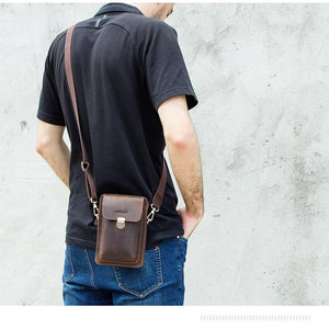 Men's Waist Pack and Shoulders Bag-Celphone Bag-Online GMall-Coffee-China-Online GMall