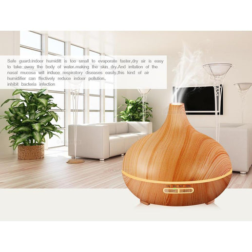 Oil Diffuser-Diffuser-Online GMall-Light Wood-China-AU-Online GMall