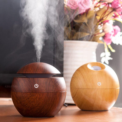 Oil Diffuser-Diffuser-Online GMall-light wood-China-Online GMall