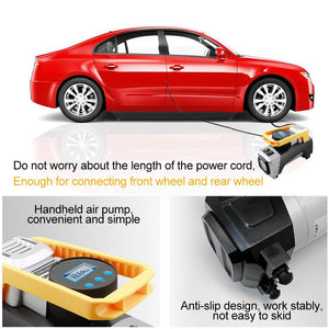 Car Digital Tire Compressor Heavy Duty-Compressor-Online GMall
