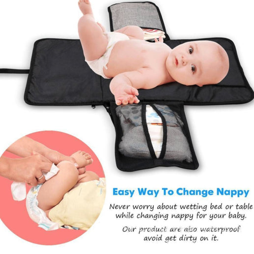 New 3 in 1 Waterproof Diapers Changing Pad
