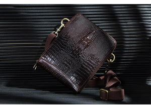 Quality Genuine Leather Messenger Bag for Men-Genuine Leather-Online GMall-Online GMall