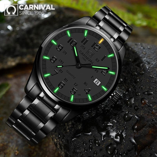 Tritium Watch for Men-Tritium Watch-Online GMall-white green-Online GMall