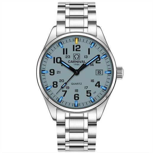 Tritium Watch for Men-Tritium Watch-Online GMall-white blue-Online GMall