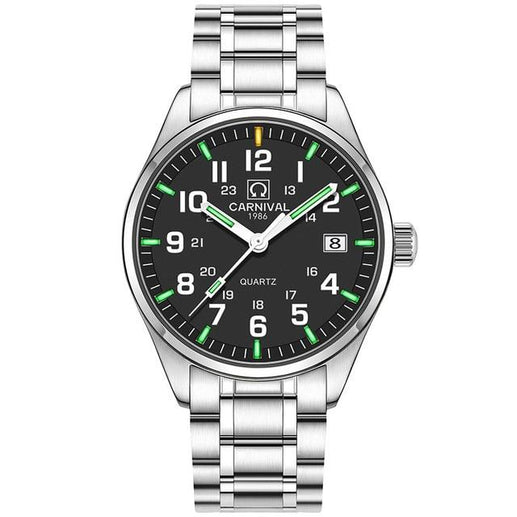 Tritium Watch for Men-Tritium Watch-Online GMall-black green-Online GMall