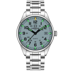 Tritium Business Watch for Men-Tritium Watch-Online GMall-white green-Online GMall