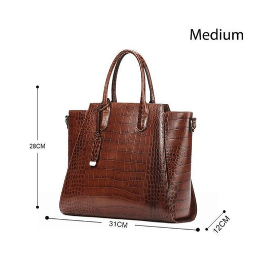 Women's Genuine Leather Bag-Bag-Online GMall-9865 Medium-China-Online GMall