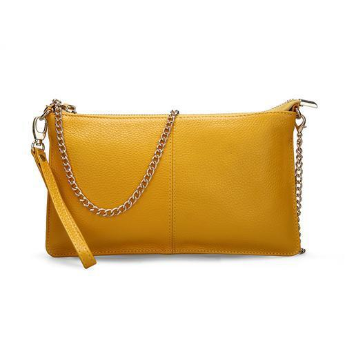Women's Leather Handbags-Handbag-Online GMall-Yellow-China-Online GMall