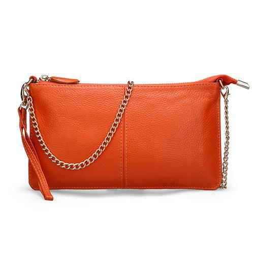 Women's Leather Handbags-Handbag-Online GMall-Orange-China-Online GMall