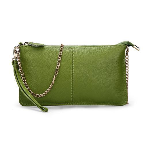 Women's Leather Handbags-Handbag-Online GMall-Green-China-Online GMall