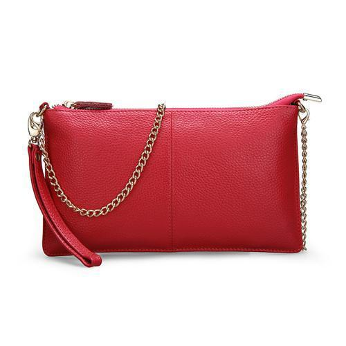 Women's Leather Handbags-Handbag-Online GMall-Red-China-Online GMall