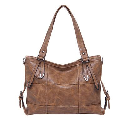 Women's Luxury Handbag-Handbag-Online GMall-Brown1-China-35x13x25cm-Online GMall