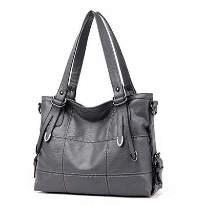 Women's Luxury Handbag-Handbag-Online GMall-gray-China-35x13x25cm-Online GMall