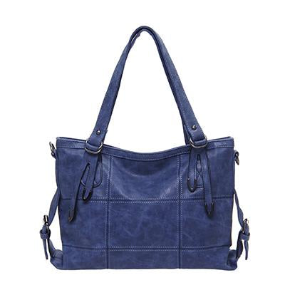 Women's Luxury Handbag-Handbag-Online GMall-Blue1-China-35x13x25cm-Online GMall