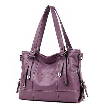 Women's Luxury Handbag-Handbag-Online GMall-purple-China-35x13x25cm-Online GMall