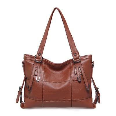 Women's Luxury Handbag-Handbag-Online GMall-brown-China-35x13x25cm-Online GMall