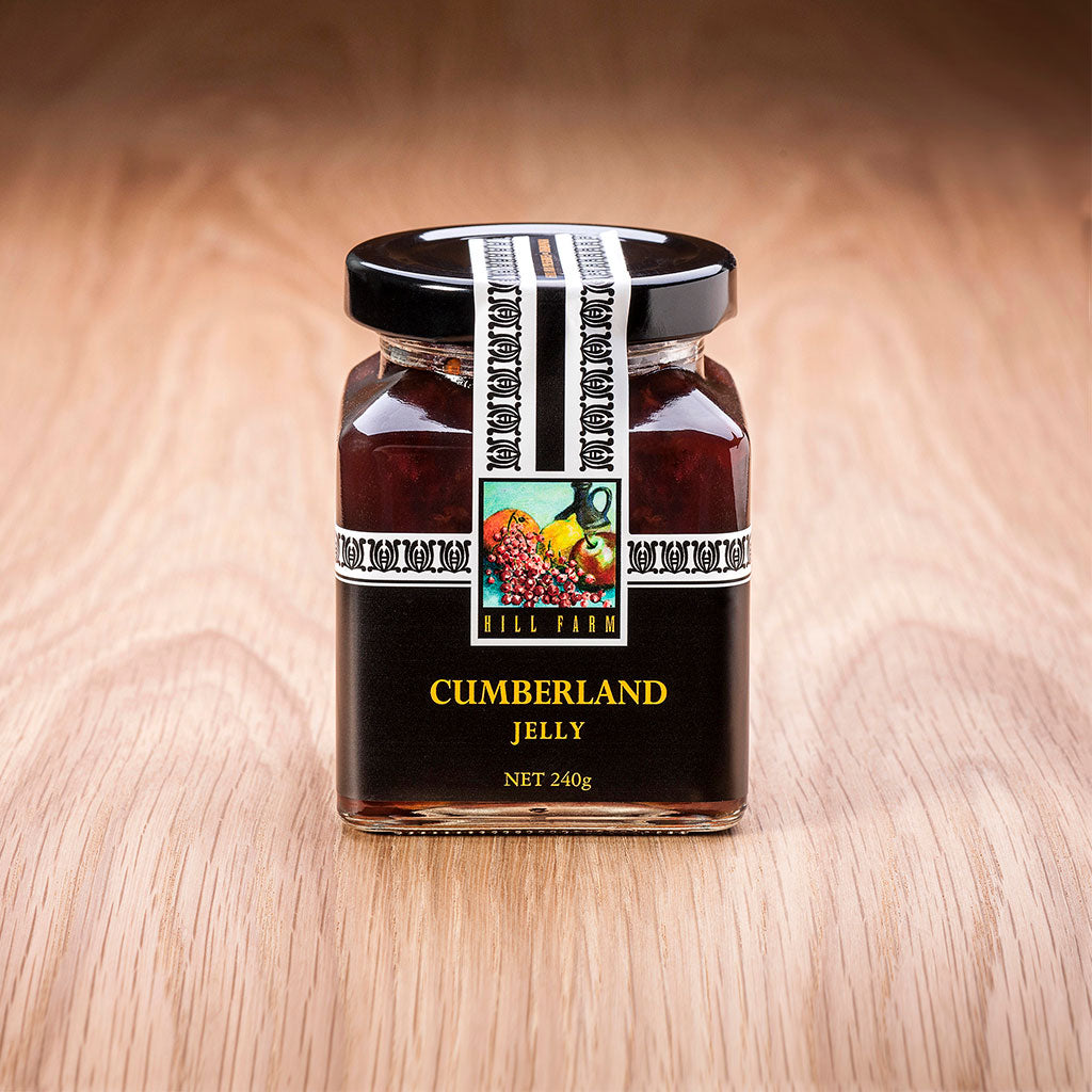 240 gram jar of Cumberland Jelly