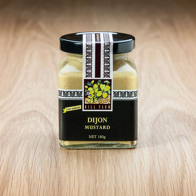 Jar of Dijon Mustard