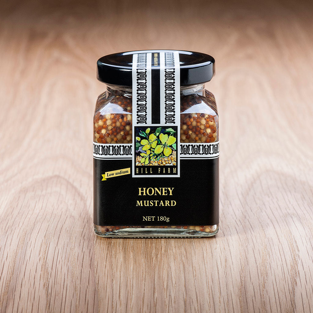 180g jar of Seeded Honey Mustard Paste