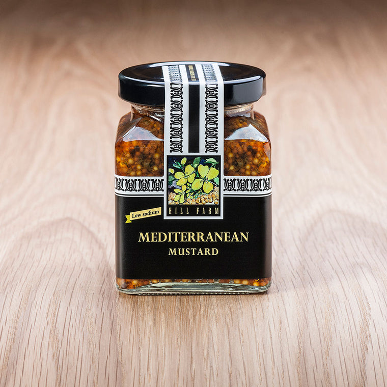 180g jar of Mediterranean Seeded Mustard Paste