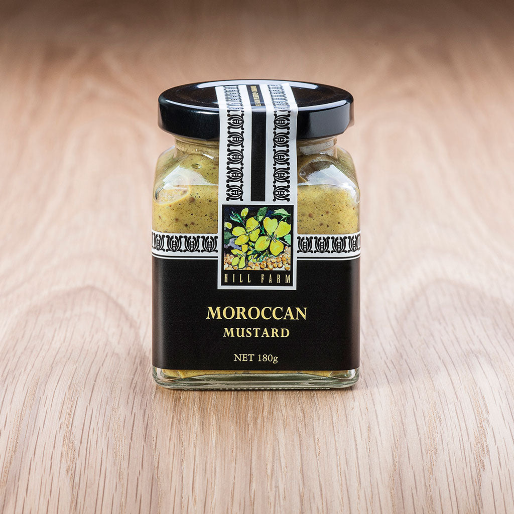 180g jar of Moroccan Seeded Mustard Paste