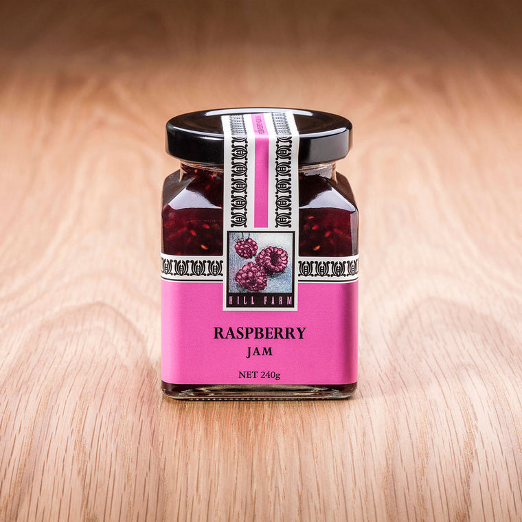 240g Jar of Raspberry Jam
