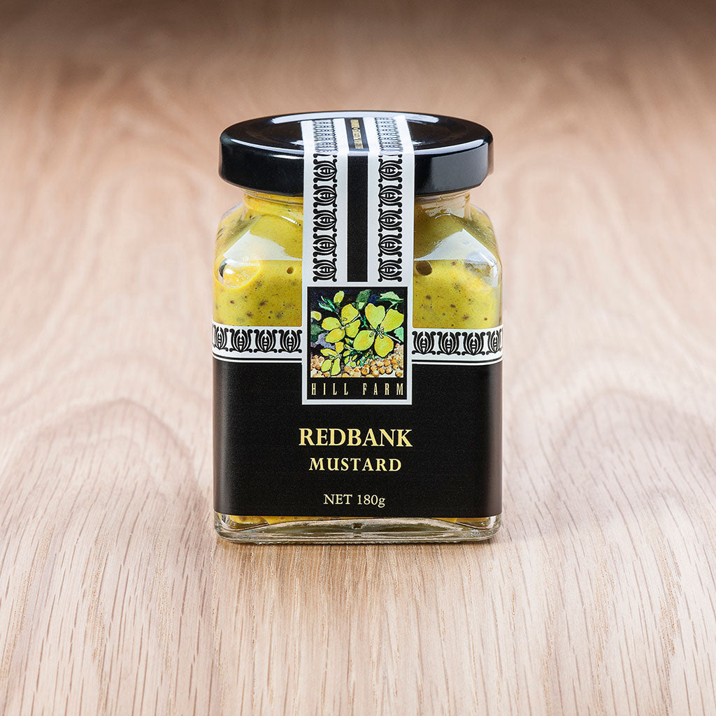 180g jar of Redbank Seeded Mustard Paste