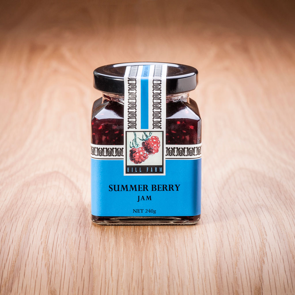 240g Jar of Summer Berry Jam