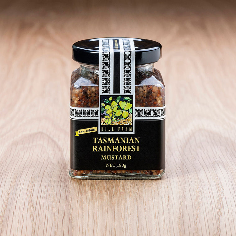 180g jar of Tasmanian Rainforest Seeded Mustard Paste