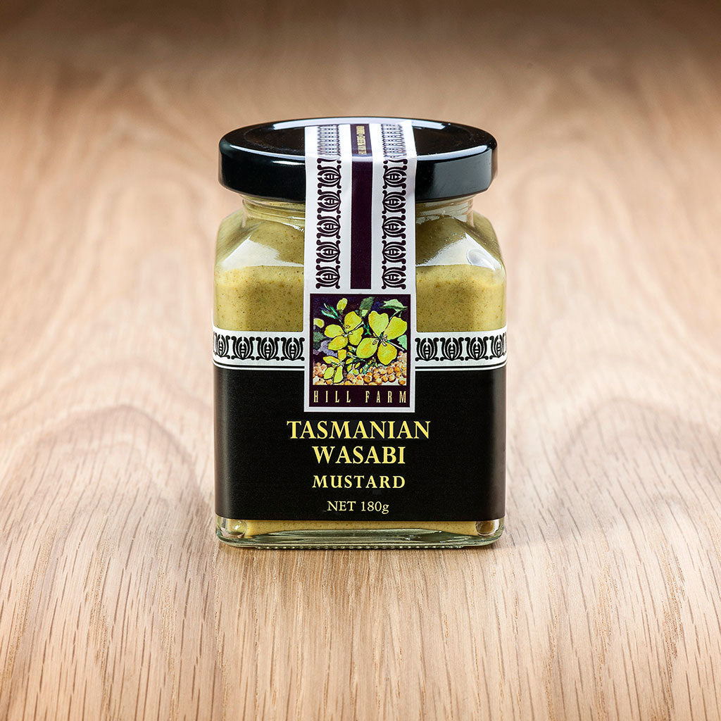 180g Jar of Tasmanian Wasabi Mustard Paste