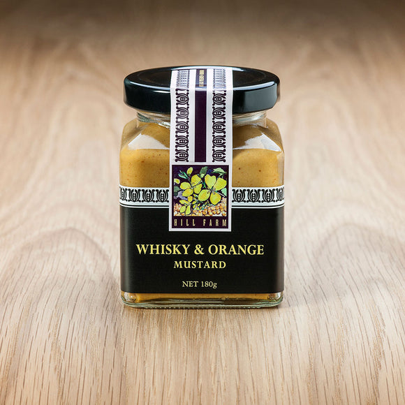 180g Jar of Whisky & Orange Mustard Paste