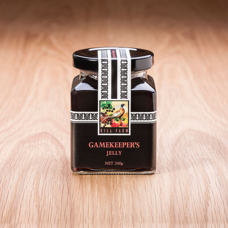 240 gram jar of Gamekeepers' Jelly