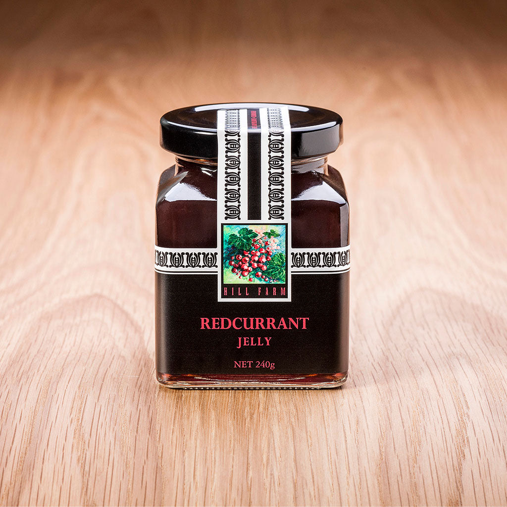 240 gram jar of Redcurrant Jelly