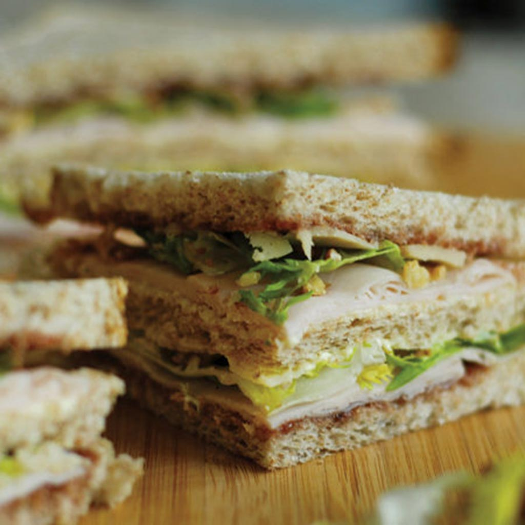 Turkey Breast Sandwich With Parmigiano Reggiano