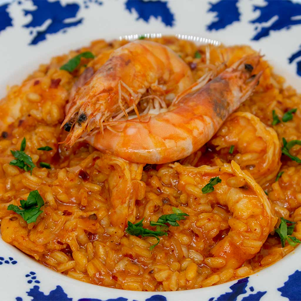 Prawn and Nduja Risotto