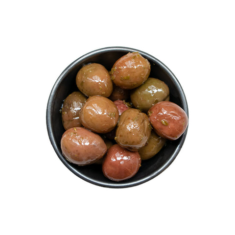 Nocellara olives with oregano