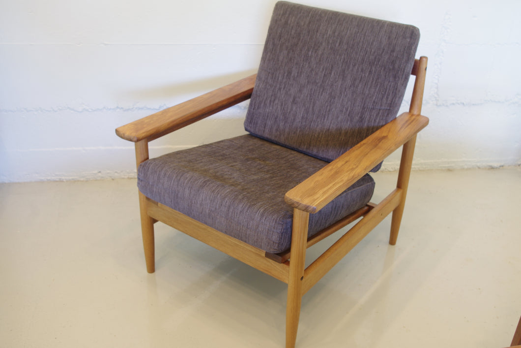 TEAK LOUNGE CHAIRS x 2