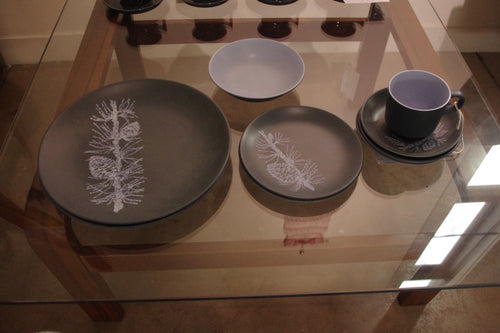 Crown Lynn, NZ, Mid Century, Pottery, Dinner set, Warkworth, Dorothy Thorpe, Pine
