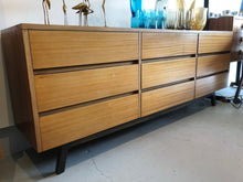 MAHOGANY SIDEBOARD DRAWERS