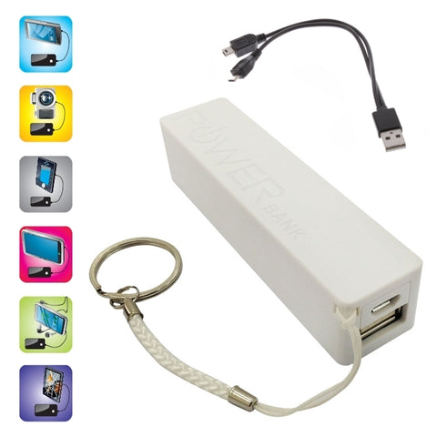 POWER BANK 1800 mAh BLANCHE