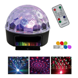 SPHERE MULTICOULEUR LED-LED GHOST BALL 3