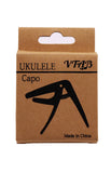 VTAB Ukulele Capo Spring Adjusted -Black
