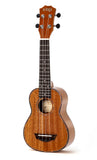 VTAB FL-Series Glossy Full Mahogany Ukuleles with Gig-Bag