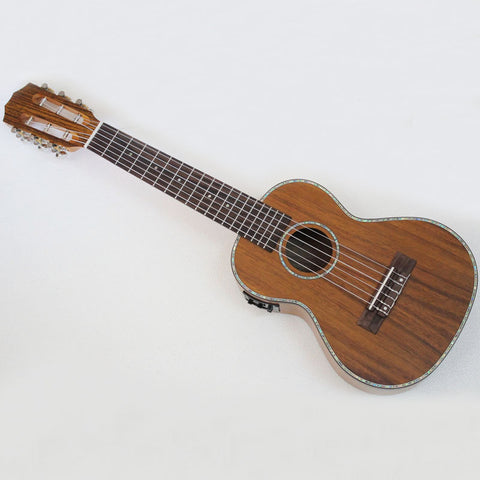VTAB Full Acacia Electric Guitarlele 28''